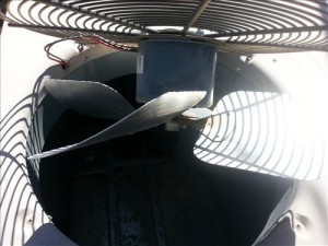 How to replace a condenser fan motor on a HVAC refrigeration unit, heat pump, air conditioner