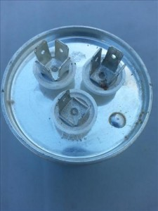 How to replace a condenser fan motor on a HVAC refrigeration unit, heat pump, air conditioner contactor capacitor