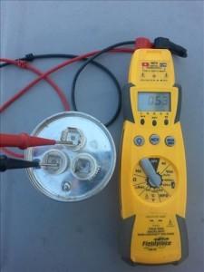 Testing a HVAC Capacitor