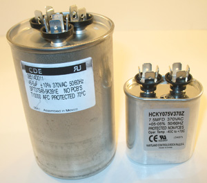 start run hvac capacitors