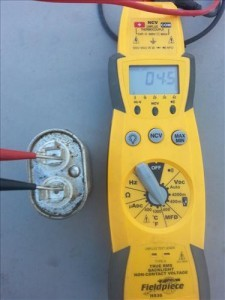 hvac testing a single Run Oval Capacitor