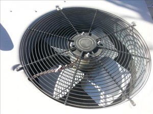 replace a condenser fan motor on a HVAC  air conditioner