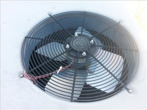 replace a condenser fan motor on a HVAC  air conditioner or heat pump 2
