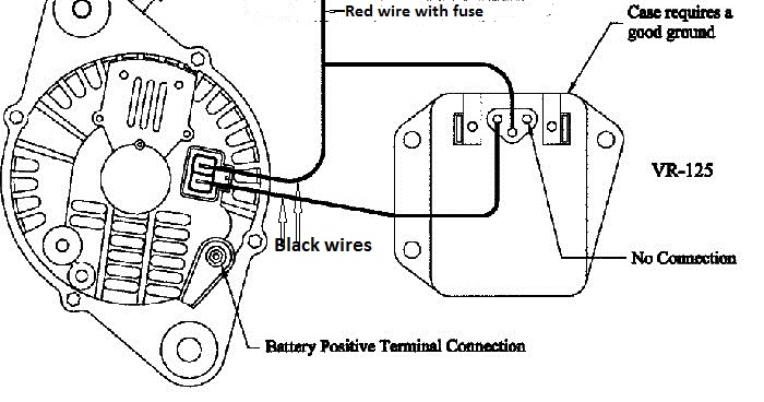 two wire alternator regulator schematic external 12 volt voltage    regulator        hvac how to  external 12 volt voltage    regulator        hvac how to