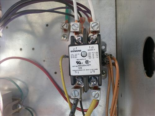 Hvac Relays Contactors on replacement condenser fan motor for rheem ac
