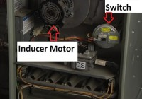 gas furnace pressure switch inducer motor
