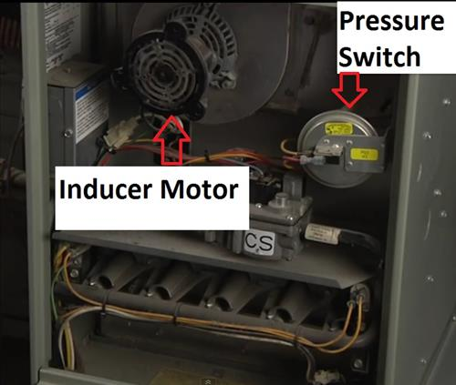 how to test a gas furnace pressure switch \u2013 hvac how togas furnace pressure switch inducer motor