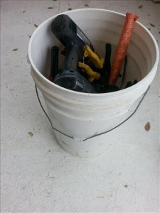 heating and cooling HVAC tool list HVAC-tool-bucket bag