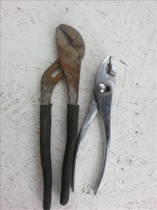 heating and cooling HVAC tool list pliers