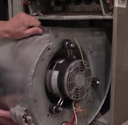 furnace blower motor replacement hvac how to