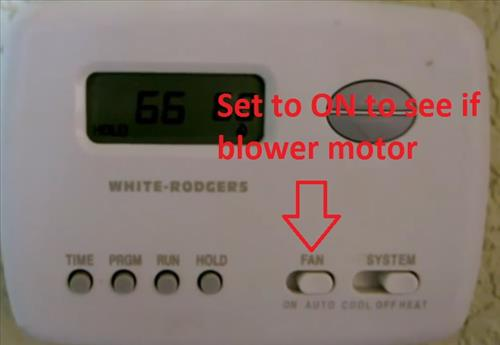 Test and replace the fan limit switch on a furnace hvac how to thermostat blower motor test sciox Gallery