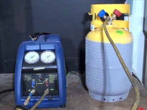 Freon Refrigerant Recovery