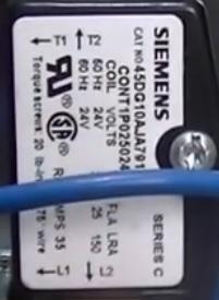 l1 l2 hvac contactor relay