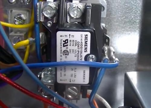 replacing a relay contactor on a heat pump hvac how to hvac contactor relay