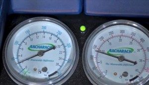 recovery machine gauges