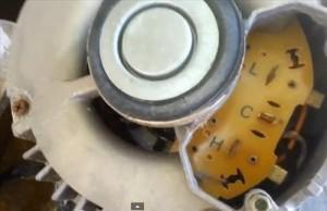 Evaporative Swamp Cooler motor hi lo wiring