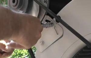 replacing a swamp cooler motor