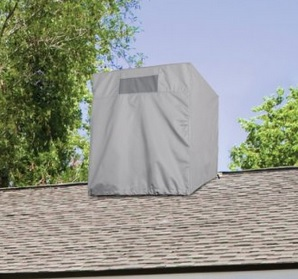 Swamp Cooler Cover Install
