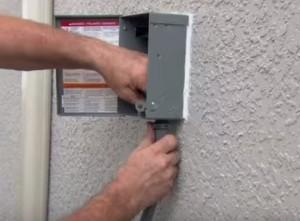 Mini Split Heat Pump For a Garage Electrical