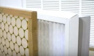 Gas Furnace Return Air Filter Example