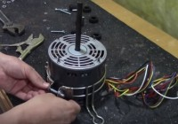 How To Replace a Furnace Blower Motor and Capacitor 44