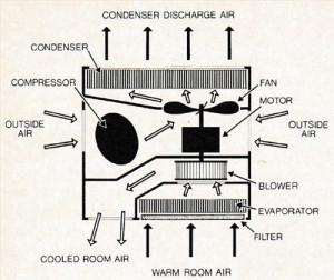Room Air Conditioners and Dehumidifiers Basics Internal View