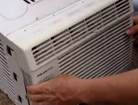 How To Clean a Window Air Conditioner Filter HVAC How To