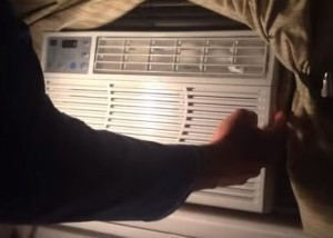 How To Clean a Window Air Conditioner Unit Filter