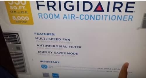 Review Frigidaire Ffre08l3q1 8 000 Btu 115v Window