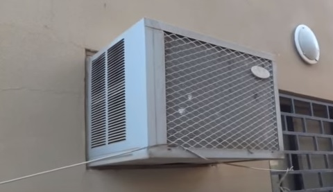 Installing a Small Air Conditioner for a Room with No Window