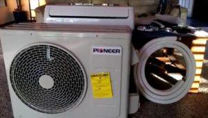 How to install  a Pioneer Mini Split Install 9000 BTU 15 SEER 110v