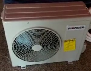 How to install  a Pioneer Mini Split Install Unit Air Conditioner
