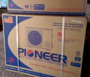 Pioneer Mini Split Install 9000 BTU 15 SEER 110v Part 1
