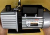 Review Harbor Freight 3 CFM Two Stage Vacuum Pump Item 60805