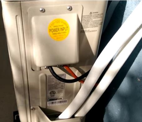 Pioneer Mini Split Install 9000 Btu 15 Seer 110v Part 2