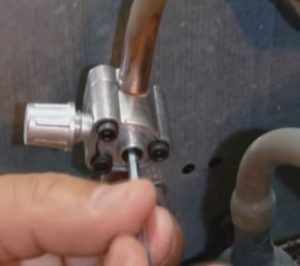 Tighten the Center Screw
