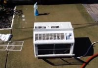 How to Clean a Window Air Conditioner Redy for the Fall