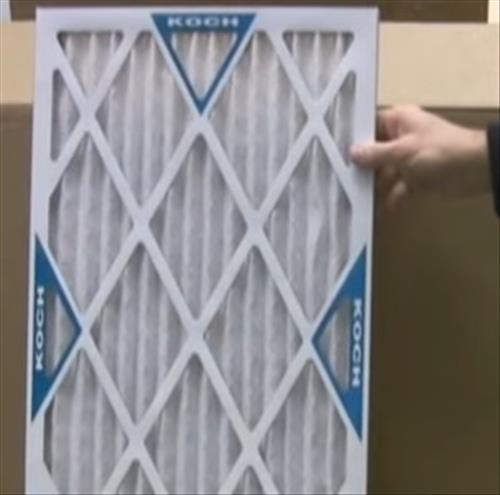 AllergyZone 16x20x1 Allergen Trapping HVAC Furnace 1 Air Filter 4 Pack