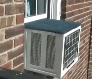 Window Air Conditioner and Rain