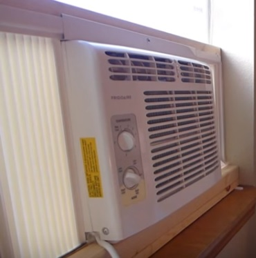 Window air conditioner and rain hvac how to for 16 inch window air conditioner
