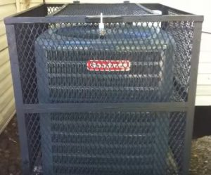 Air Conditioner Security Cage Kits Full Coverage