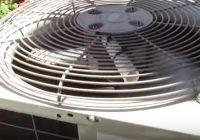 Outside Condensing Fan Motor Does Not Shut Off