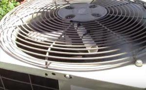 Outside Condensing Fan Motor Does Not Shut Off