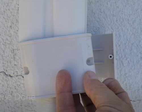 How To Install a Wall Cover Kit for a Mini Split Line Set and Wiring Step 7