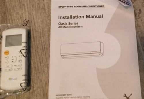 How To Install Senville 9000 BTU 230 Volts Ductless Mini Split All