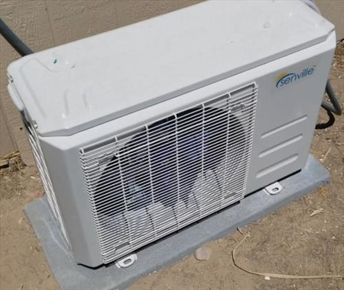 How To Install Senville 9000 BTU 230 Volts Ductless Mini Split Outside
