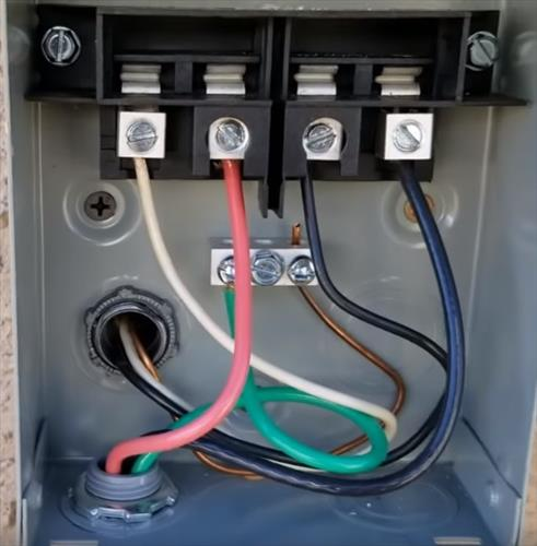 ac disconnect wiring wiring diagram completed AC Disconnect Wiring