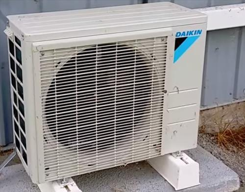 Review Daikin Mini Split Heat Pump Outside