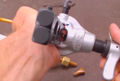 How To Flare a Mini Split Copper Line Set Step 5