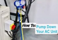 How To Pump Down a Mini Split Air Conditioner Heat Pump